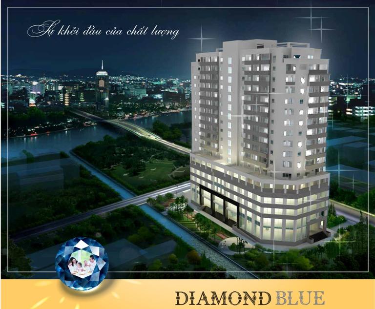 Phối cảnh dự án chung cư Diamone Blue