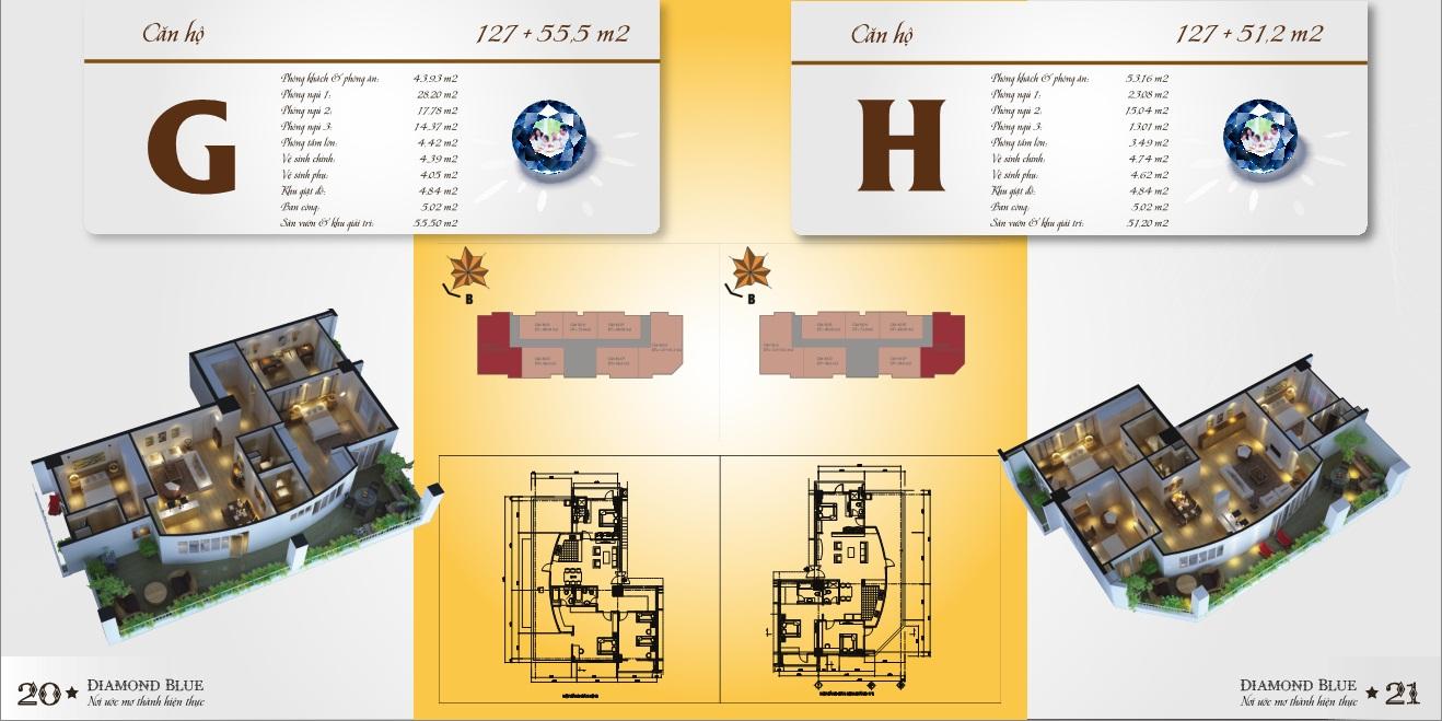 Thiết kế chi tiết từng căn hộ chung cư 69 Triều Khúc