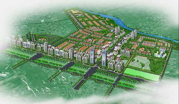 khu đô thị mới Mê Linh - Thanh Lâm - Đại Thịnh