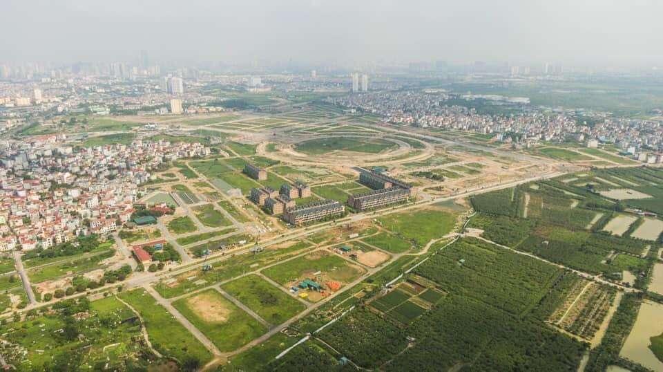 Tổng thể thực tế khu đô thị kim chung di trạch