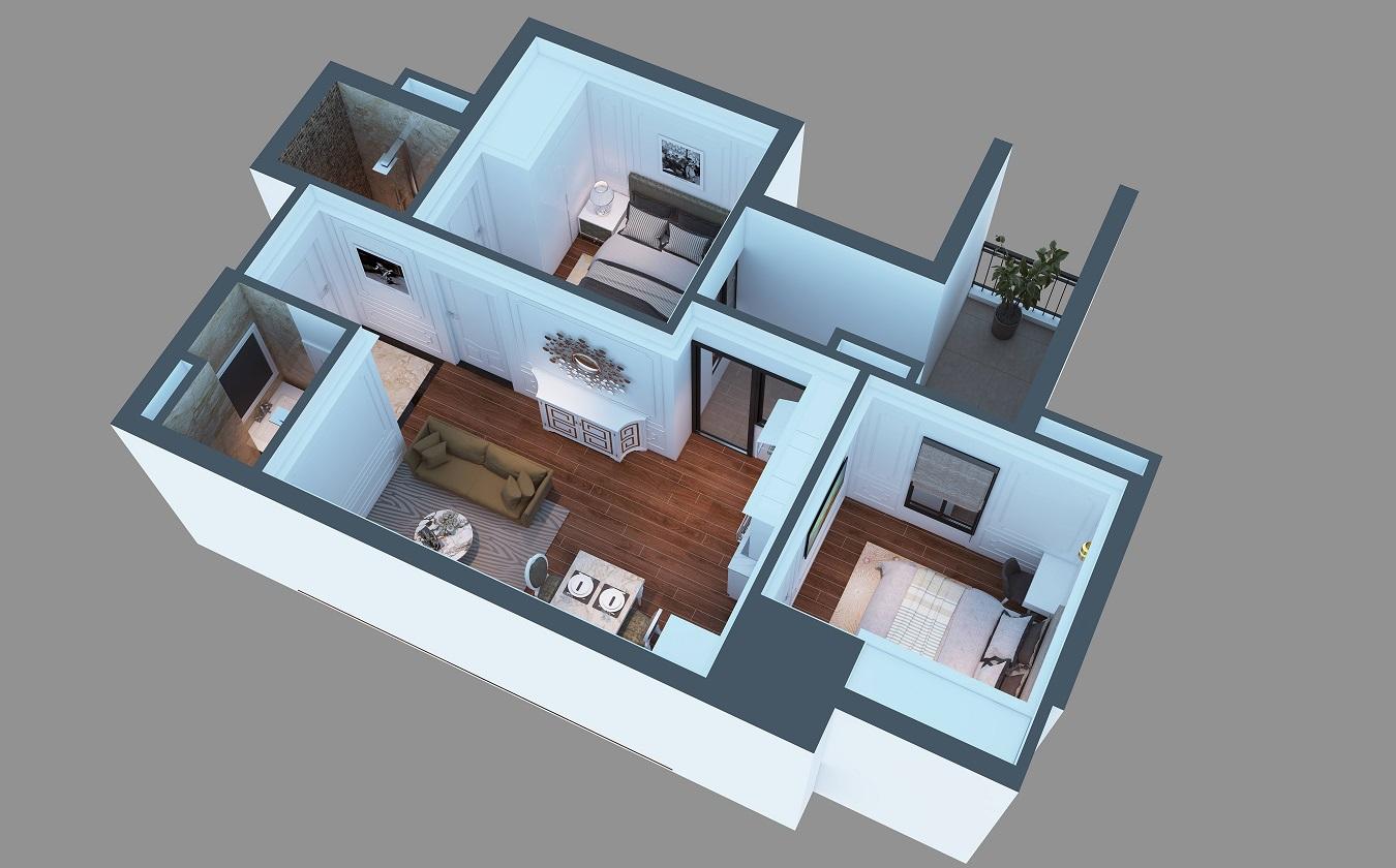 Hình ảnh căn hộ dự án