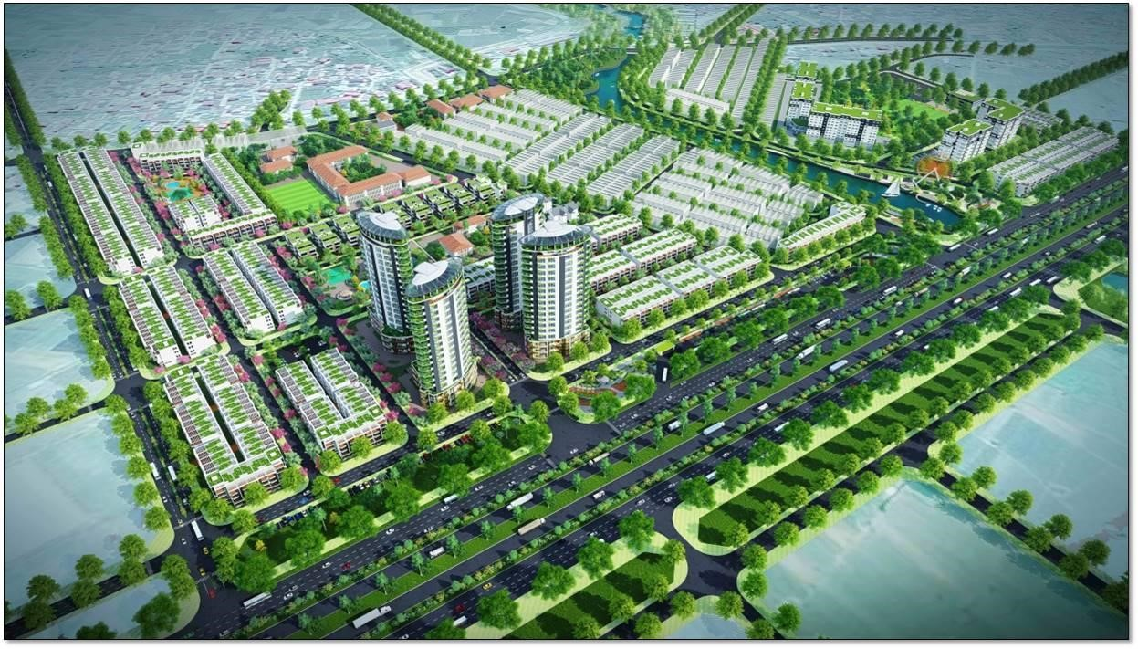 khu đô thị mới Mê Linh