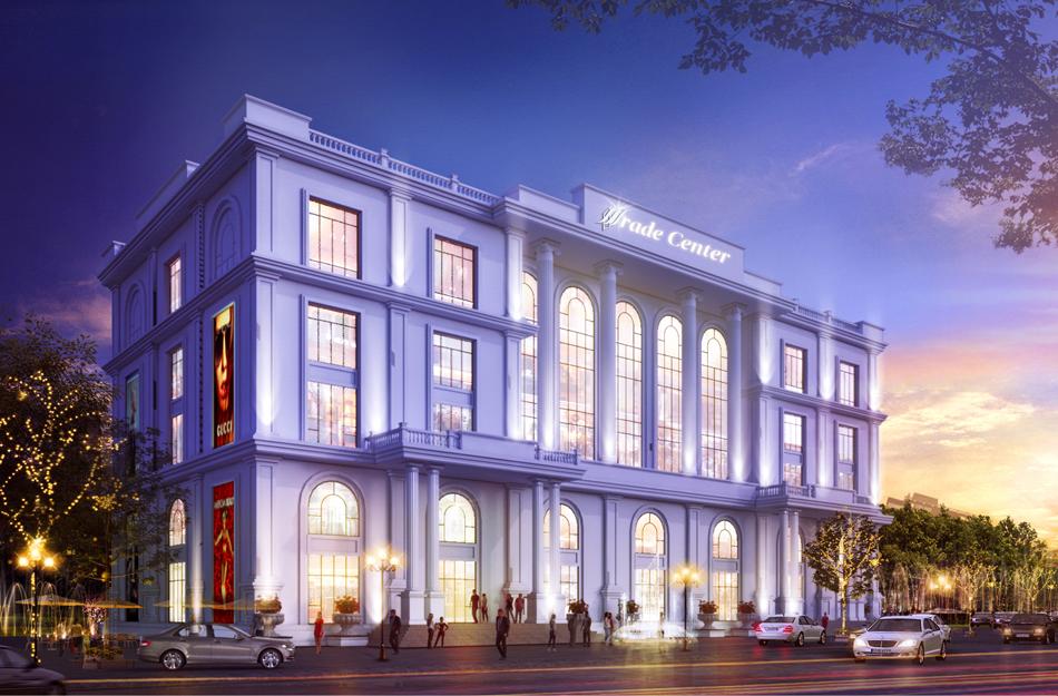 Trung tâm thương mại dự án Minh Đức Mê Linh