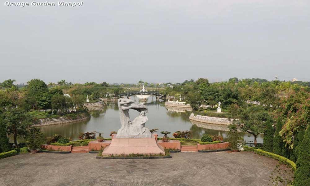 Công viên hồ điều hòa Khu đô thị Vườn Cam