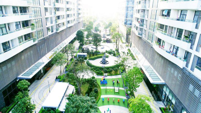 Khuôn viên cây xanh