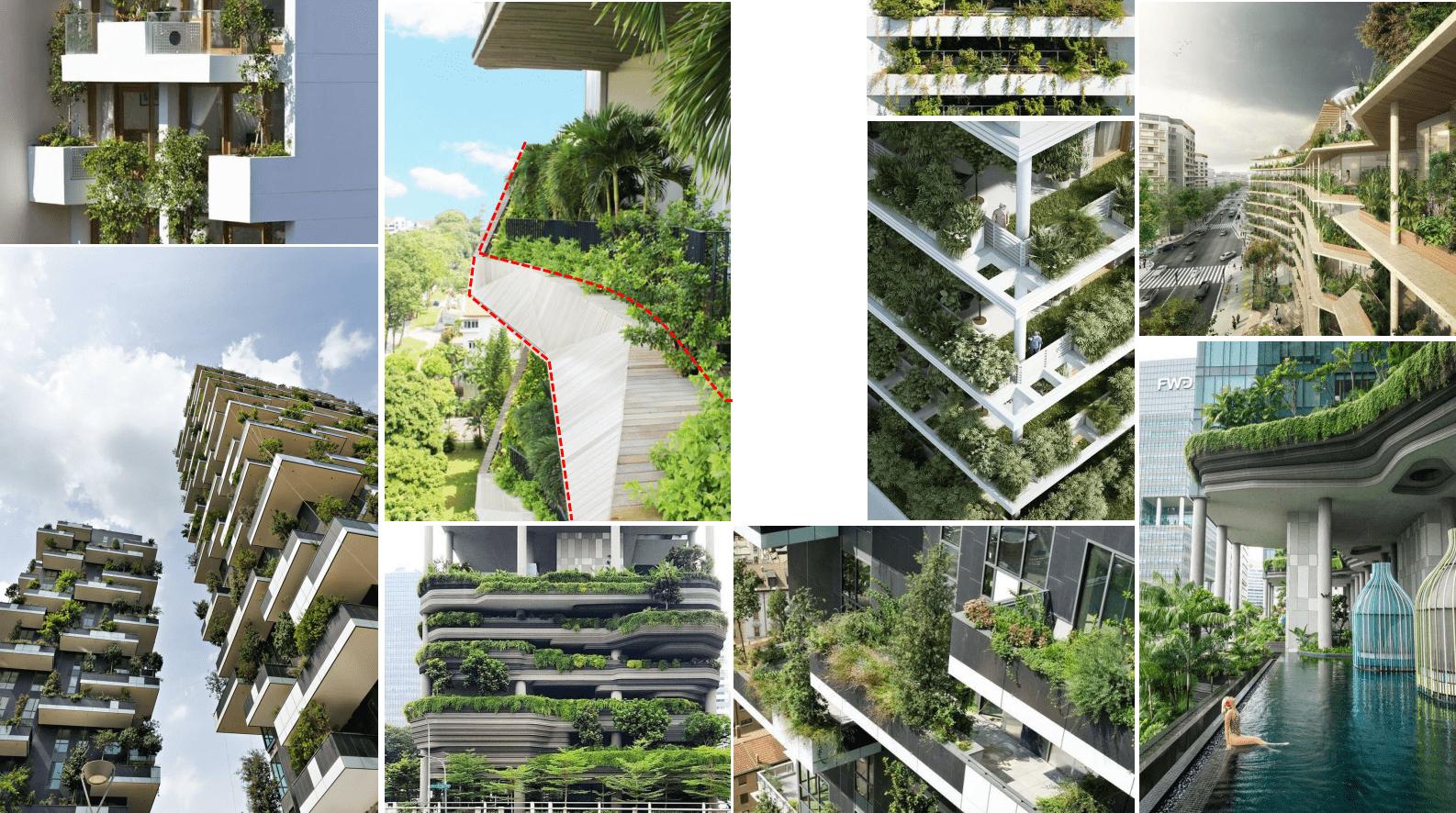 Cảnh quan cây xanh dự án