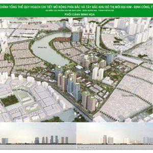 Quy hoạch tổng thể dự án Bắc Đại Kim - Định Công