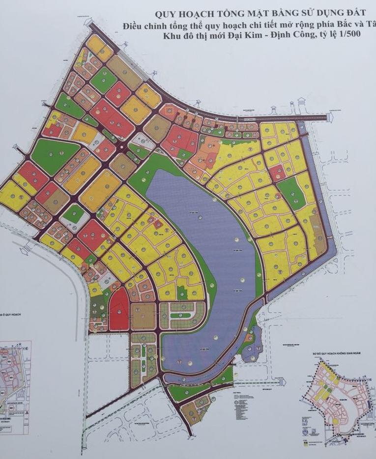 Quy hoạch tổng thể dự án Đại Kim Định Công