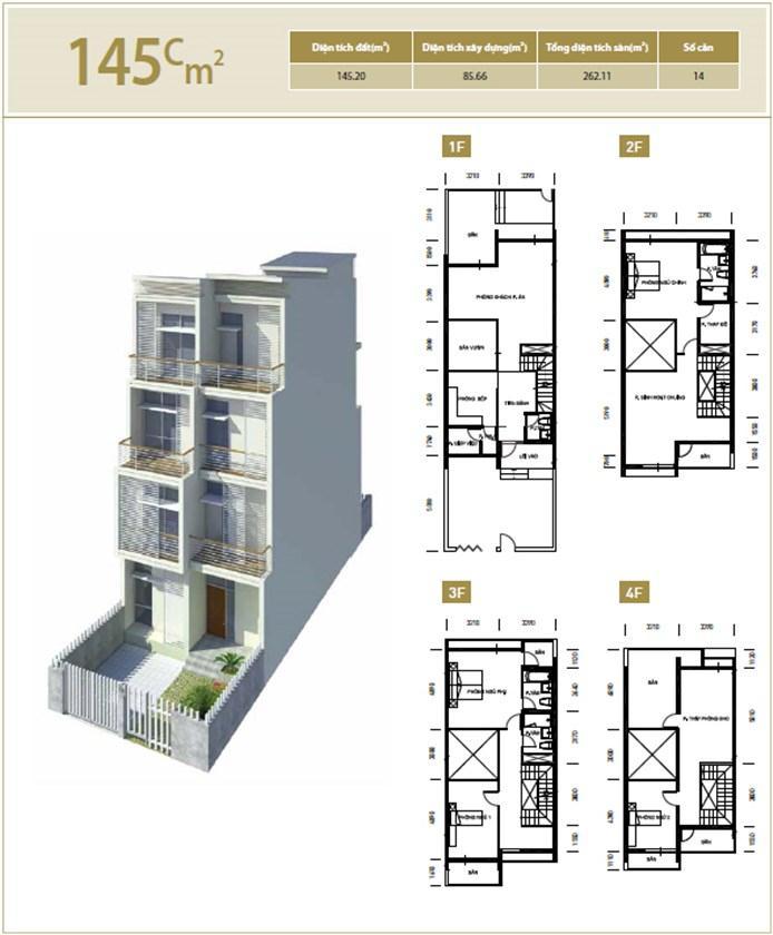 Căn hộ C 145 m2