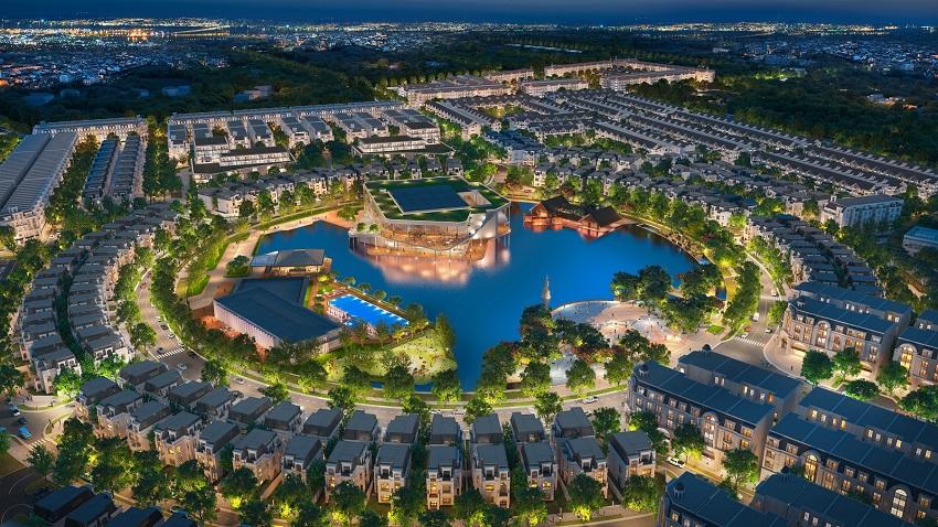 Quy hoạch tổng thể Khu đô thị Kim Chung Di Trạch
