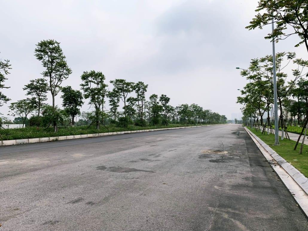 Hạ tầng đường nội bộ khu đô thị Vân Canh