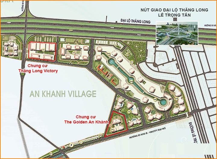 Dự án Nam An Khánh khu hỗn hợp (33ha)