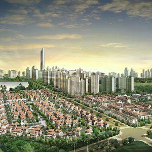 Toàn cảnh Khu đô thị Bắc An Khánh