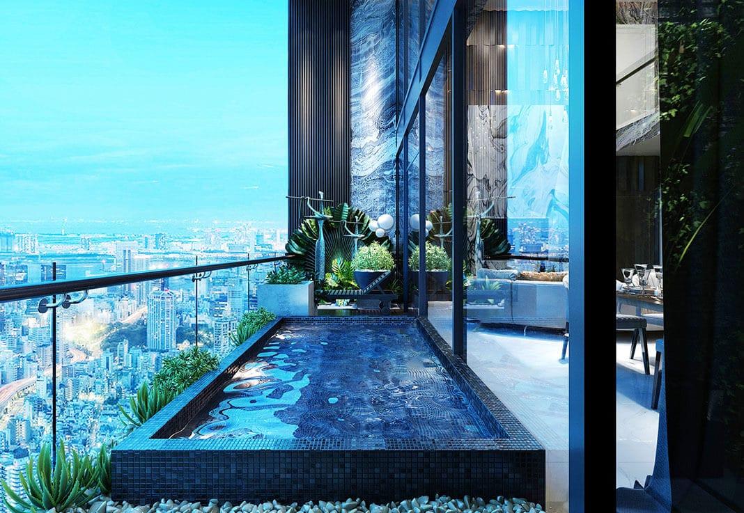 Thiết kế căn hộ mẫu Logia