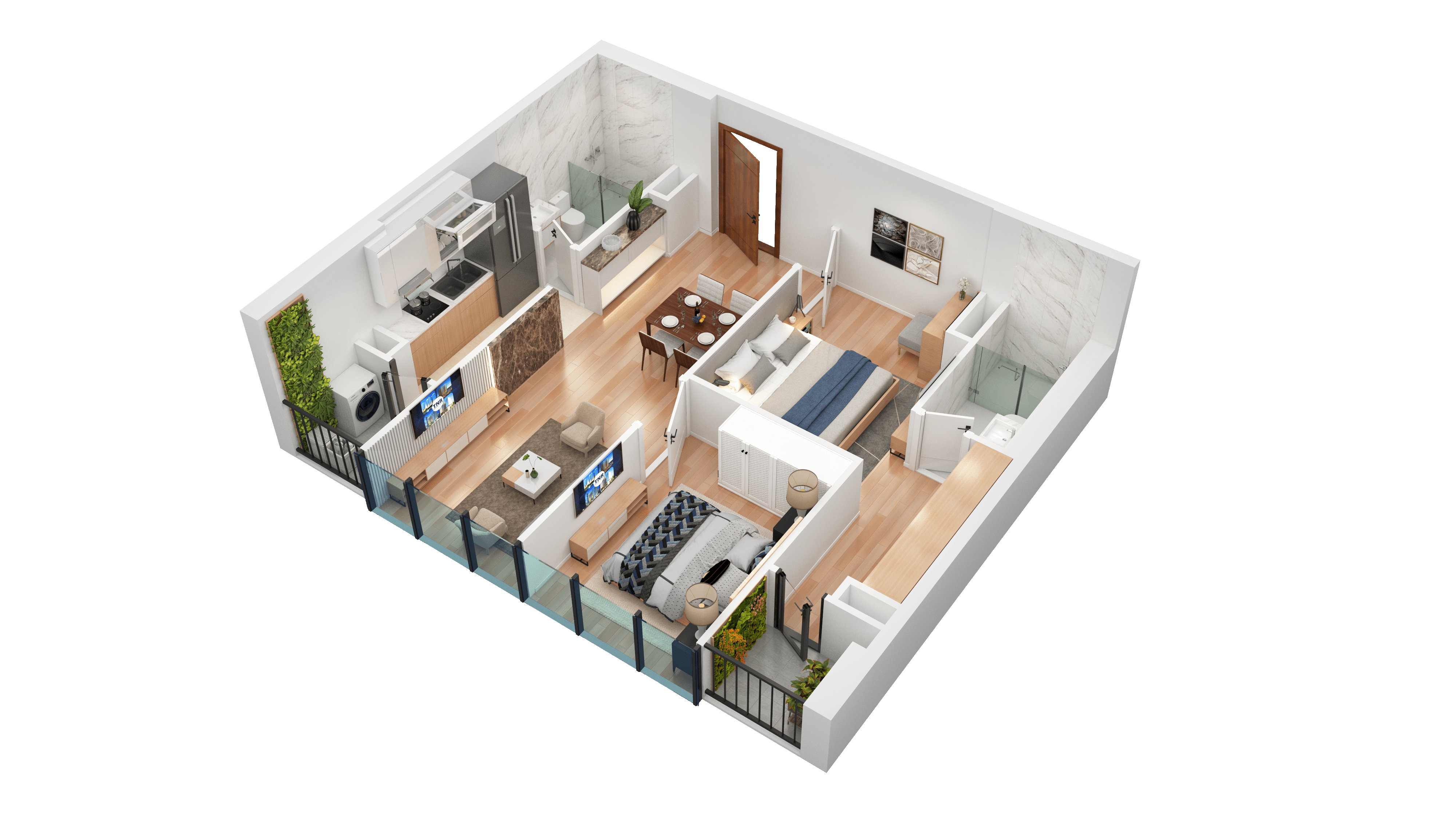 Thiết kế căn hộ 189
