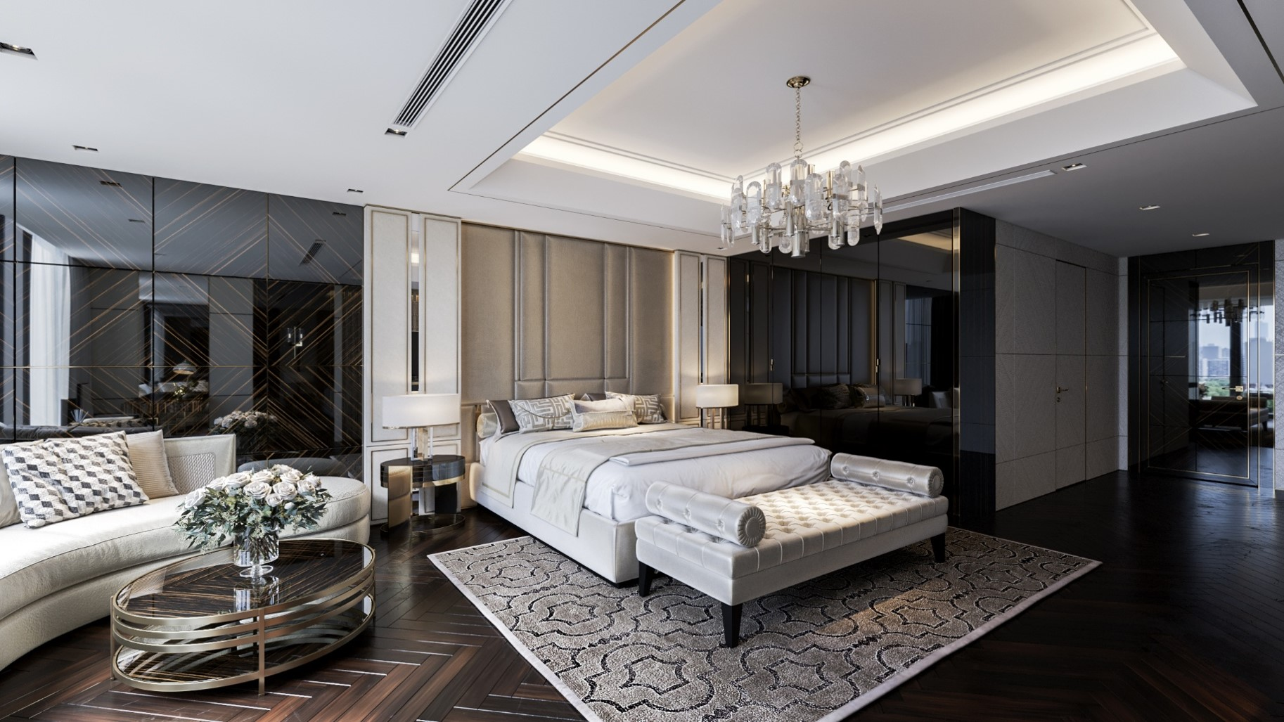 Thiết kế căn hộ mẫu Phòng ngủ