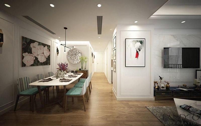 Thiết kế căn hộ hiện đại sang trọng