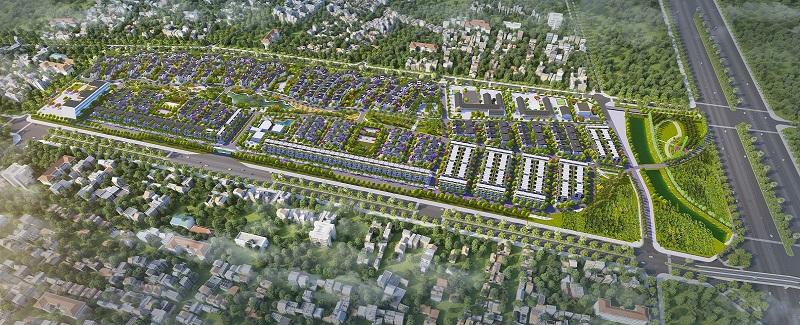Phối cảnh tổng thể Dự án Hà Đô Charm Villas