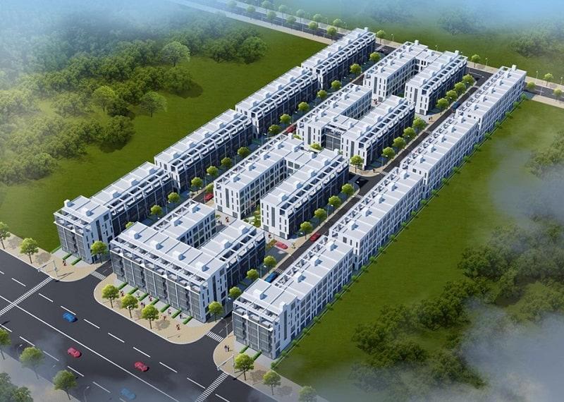 Phối cảnh dự án S-Downtown Thanh Trì