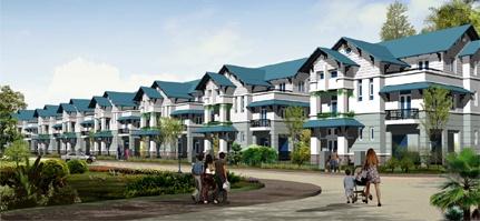 biệt thự khu đô thị Hà Phong Mê Linh