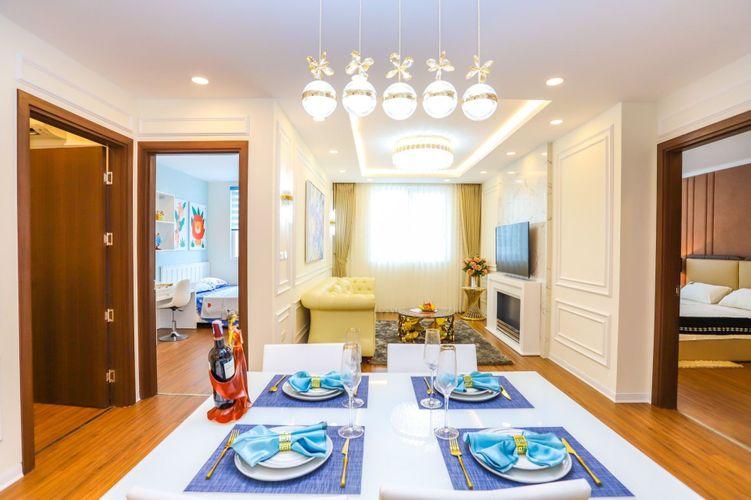 Thiết kế căn hộ mẫu - Bàn ănchung cư Eurowindow River Park
