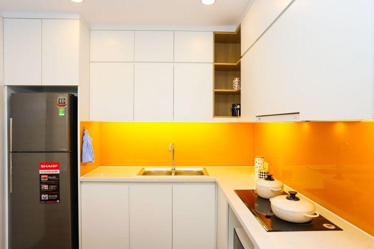 Thiết kế căn hộ mẫu - Bếp