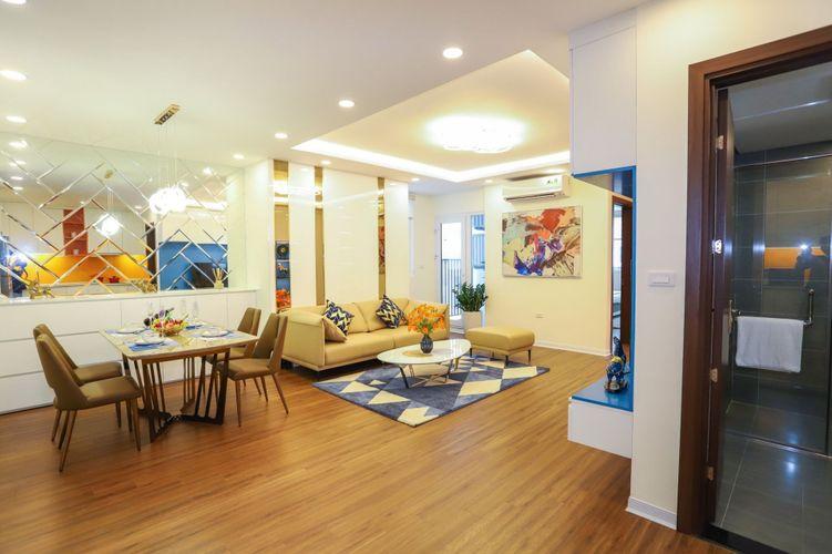 Thiết kế căn hộ mẫu - Phòng khách