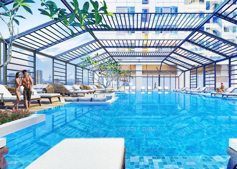 Tiện ích bể bơi 4 mùa