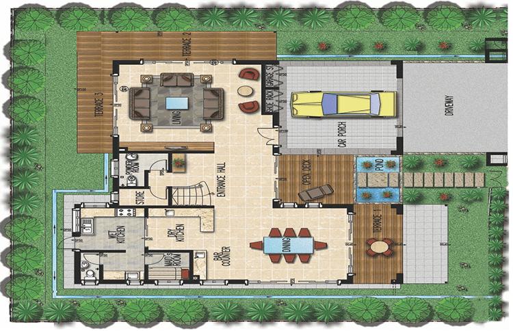 Thiết kế mẫu Creative Biệt thự Khu đô thị Xanh Villas