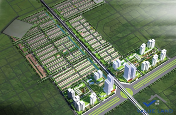 Phối cảnh dự án AIC Mê Linh