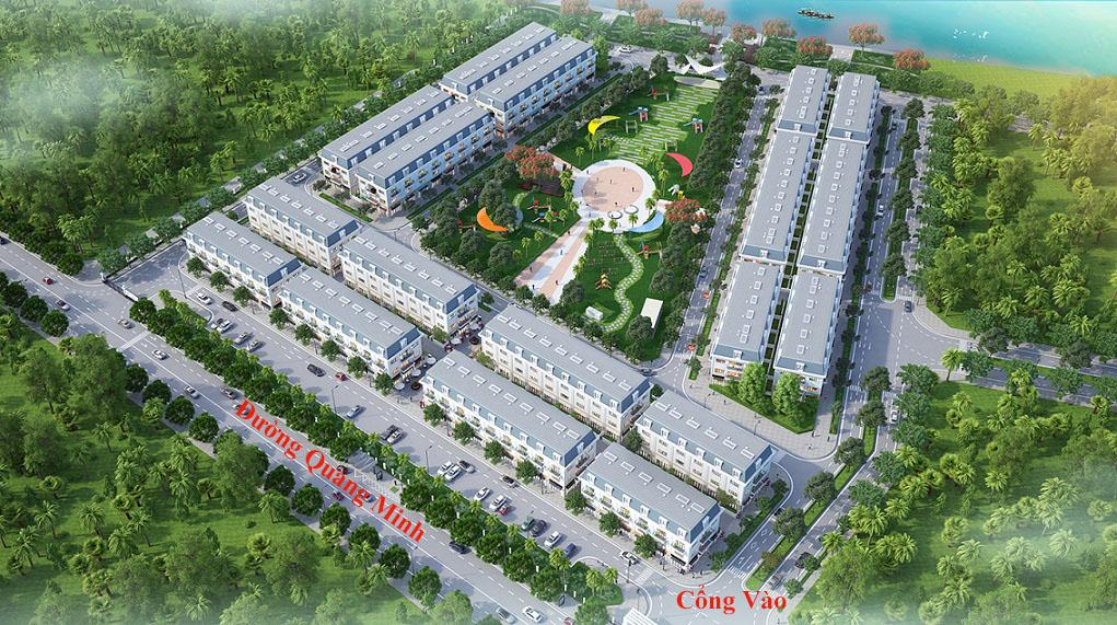 Phối cảnh dự án Khu đô thị Long Việt Riverside