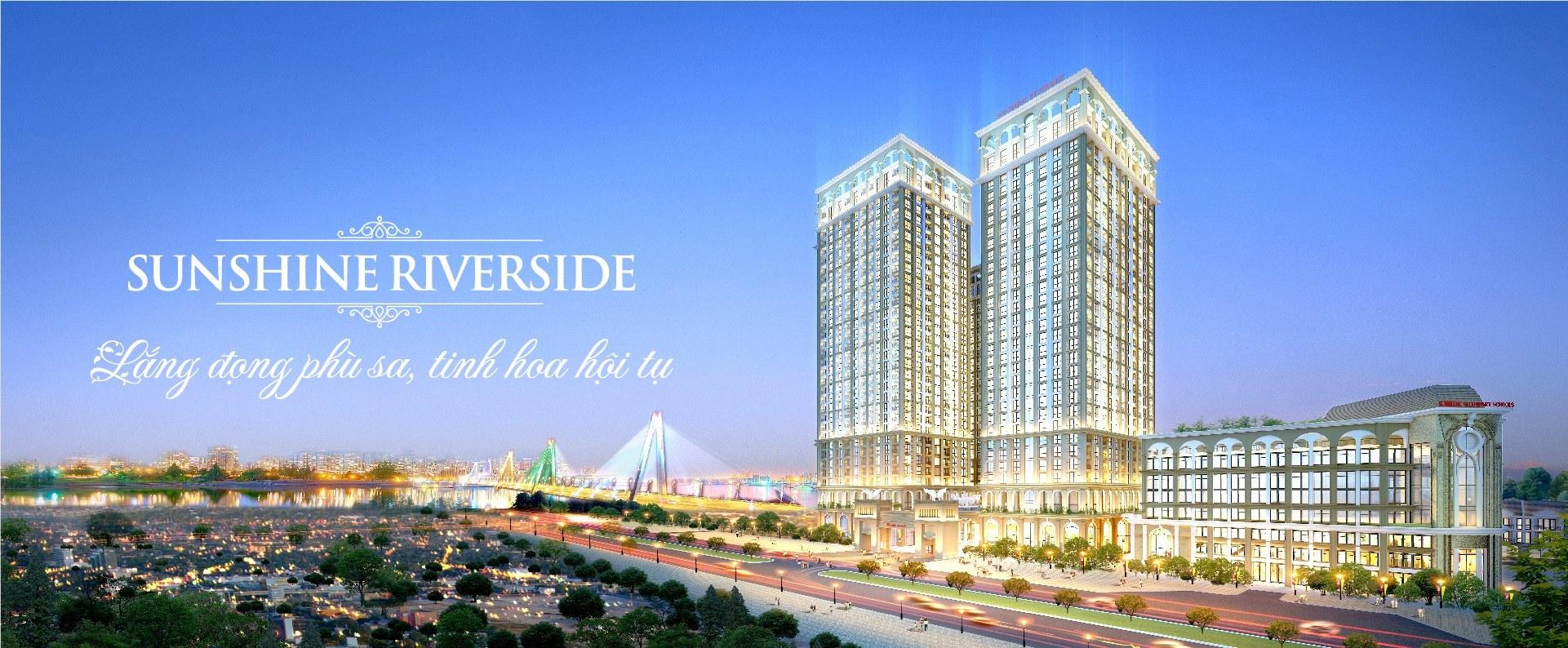 Phối cảnh dự án chung cư Sunshine Riverside Ciputra