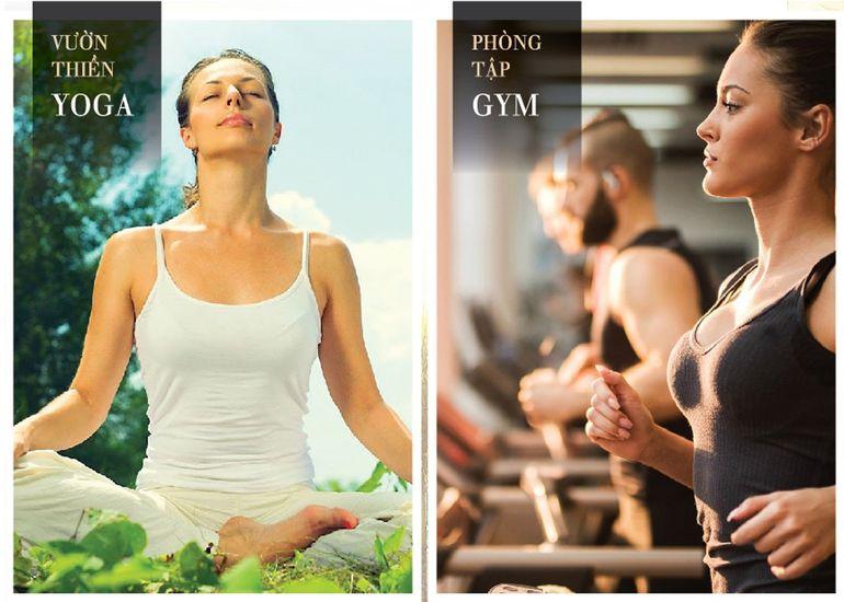 Tiện ích Gym, Yogachung cư Eurowindow River Park