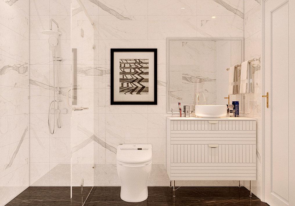 Nhà vệ sinh phong cách hiện đại, sang trọng
