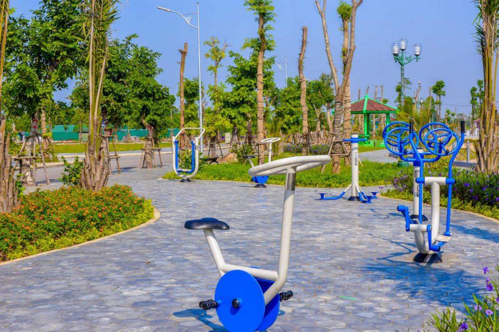 Khuôn viên dự án Ceo Mê Linh
