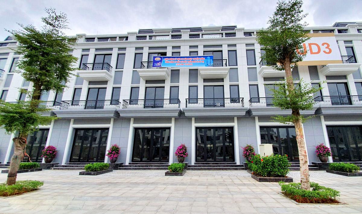 Hình ảnh thực tế shophouse Hud Sơn Tây 1