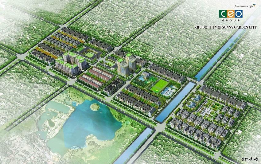 Khu đô thị mới Sunnny Garden City