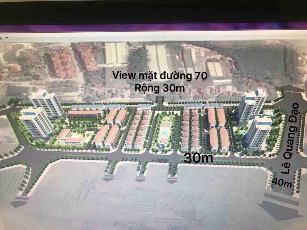 Quy hoạch mặt đường Lê Quang Đạo