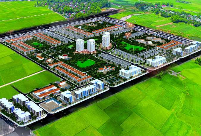 Phối cảnh Khu đô thị Hud Mê Linh Central - Thanh Lâm Đại Thịnh 2