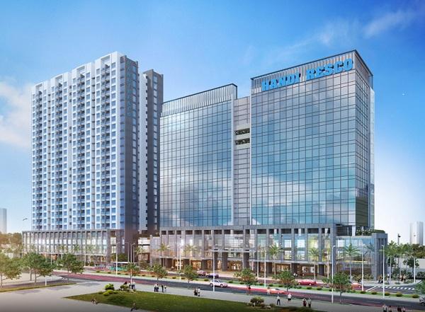 Phối cảnh dự án chung cư Handiresco Lê Văn Lương