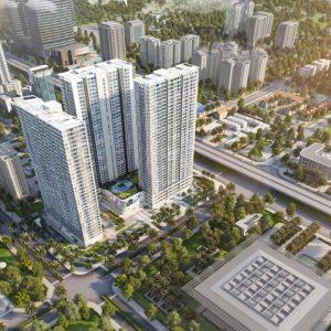 Phối cảnh dự án Vinhomes Westpoint Phạm Hùng