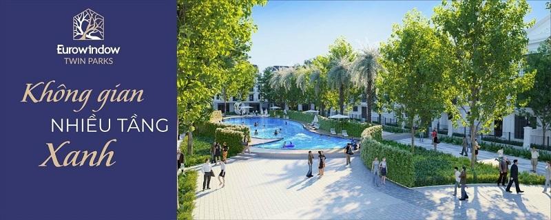 Bể bơi Eurowindow Twin Parks Trâu Quỳ – Gia Lâm