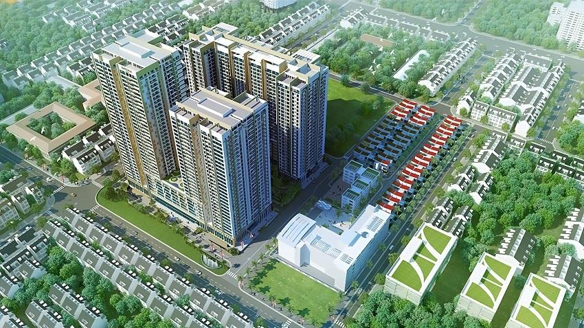 Phối cảnh dự án Imperia Garden Nguyễn Huy Tưởng