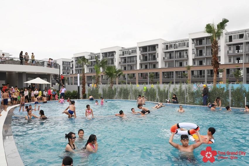 Bể bơi ngoài trời TMS Phúc Yên