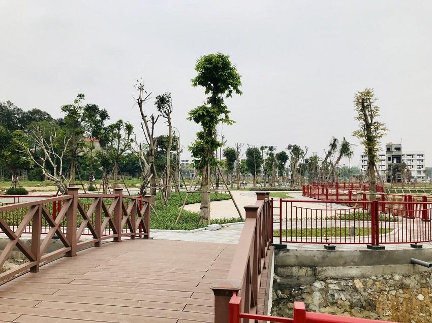 Khu tiện ích công viên cây xanh