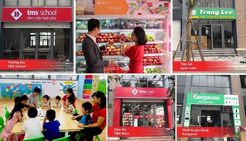 Chuỗi cửa hàng tiện ích - giáo dục TMS Phúc Yên
