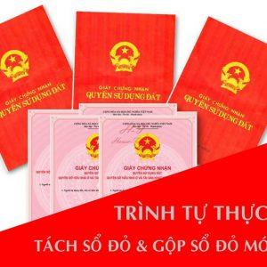 Dịch vụ chia tách sổ đỏ nhanh tại Hà Nội