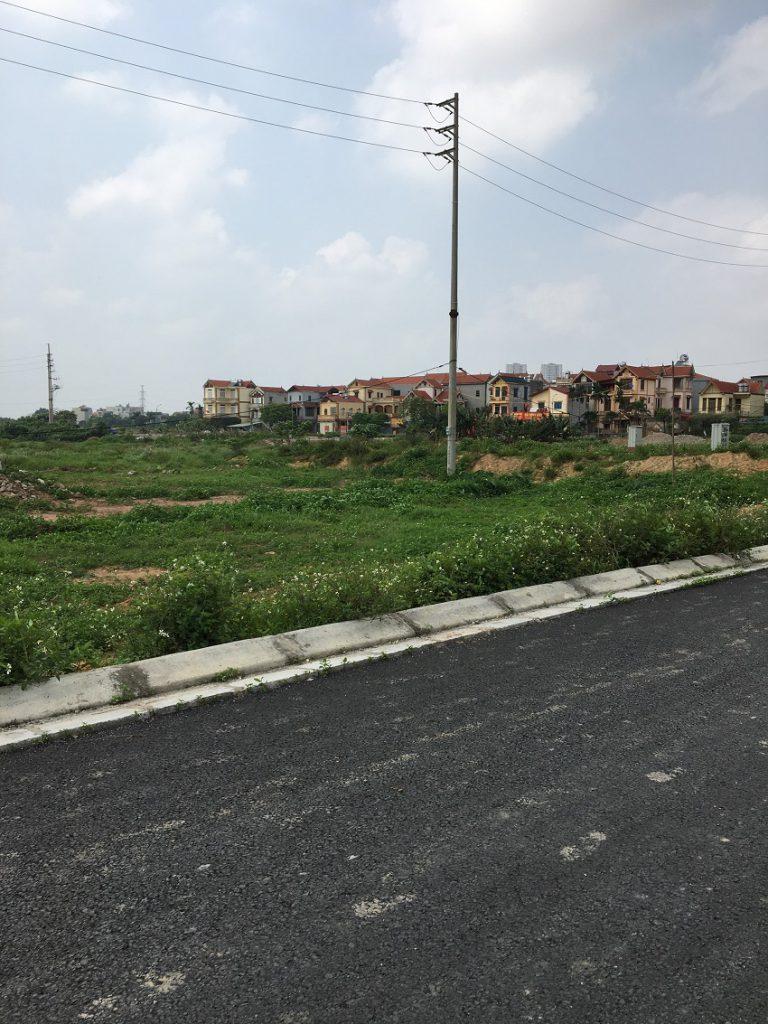 mua đất dịch vụ xã Vân Canh