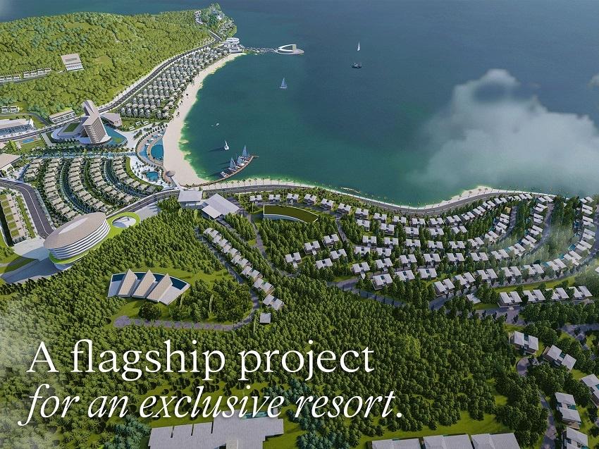 Phối cảnh tổng thể dự án Meyresort Bãi Lữ Nghệ An