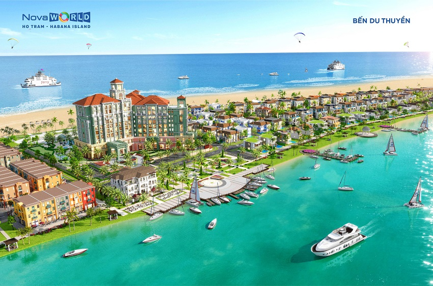 Bến du thuyền Habana Island - Novaworld Hồ Tràm